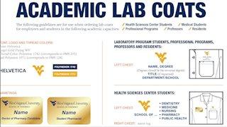 WVU Trademark Licensing updates academic lab coat standards