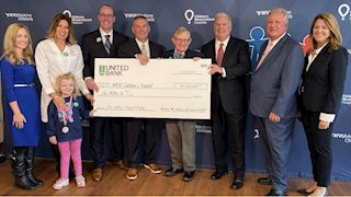 United Bank donates $1M for new WVU Medicine Children's tower