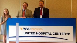 United Hospital Center introduces new WVU Medicine logo
