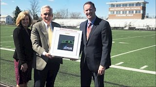 University Healthcare Foundation donates an AED to Martinsburg High School