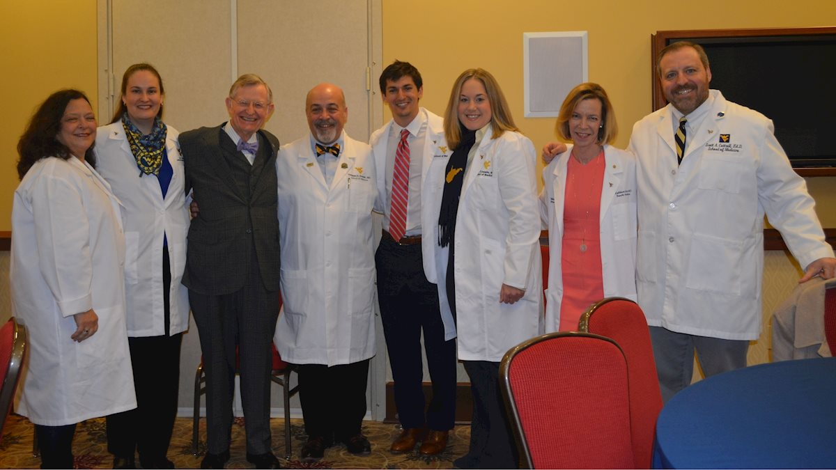 Updated faculty details for 2018 MD White Coat Ceremony