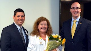 Vicki Chase chosen as inaugural WVU Medicine-WVU Hospitals Magnet Nurse of the Year