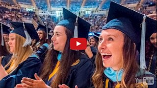 VIDEO: Sights and sounds as WVU's newest graduates embrace a new chapter at 2016 Commencement