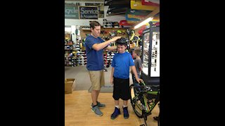West Virginia Prevention Research Center awards bicycle to local student