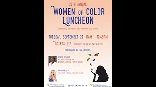 Women of Color Luncheon to occur Sept. 29