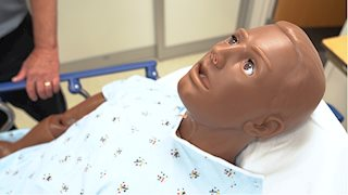 WV STEPS features diverse manikin, standardized patients for students to gain experience working with diverse populations