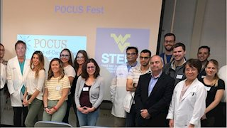 WV STEPS hosts immersive ultrasound training session