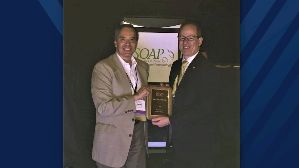 WVU assistant dean for Graduate Medical Education named SOAP Teacher of the Year