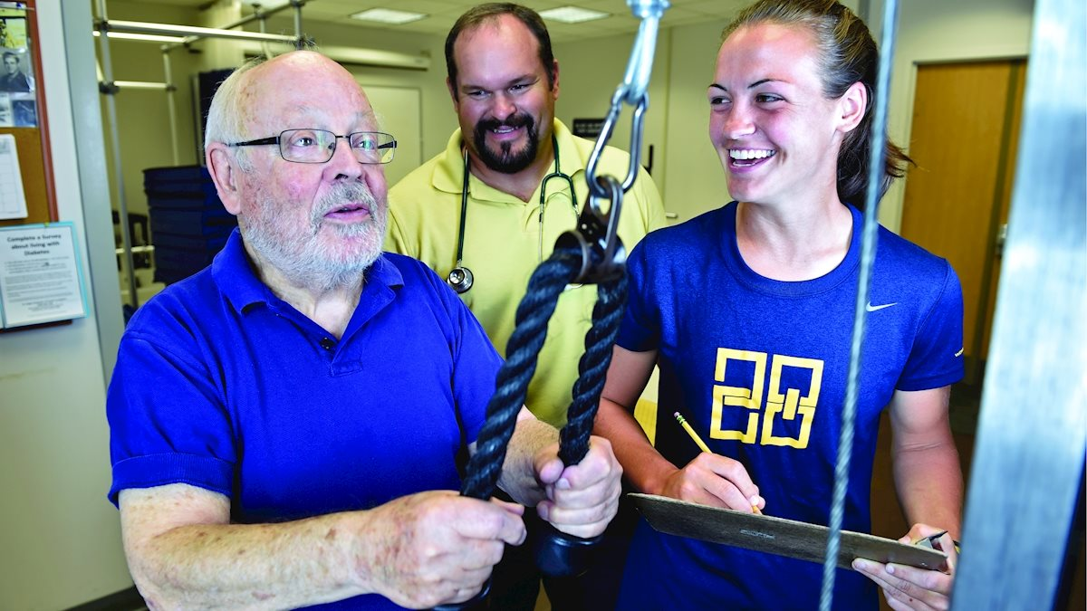 "WVU becomes official member of ""Exercise is Medicine On Campus"""