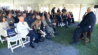 WVU Cancer Institute holds dedication for redesigned facility; photo gallery available