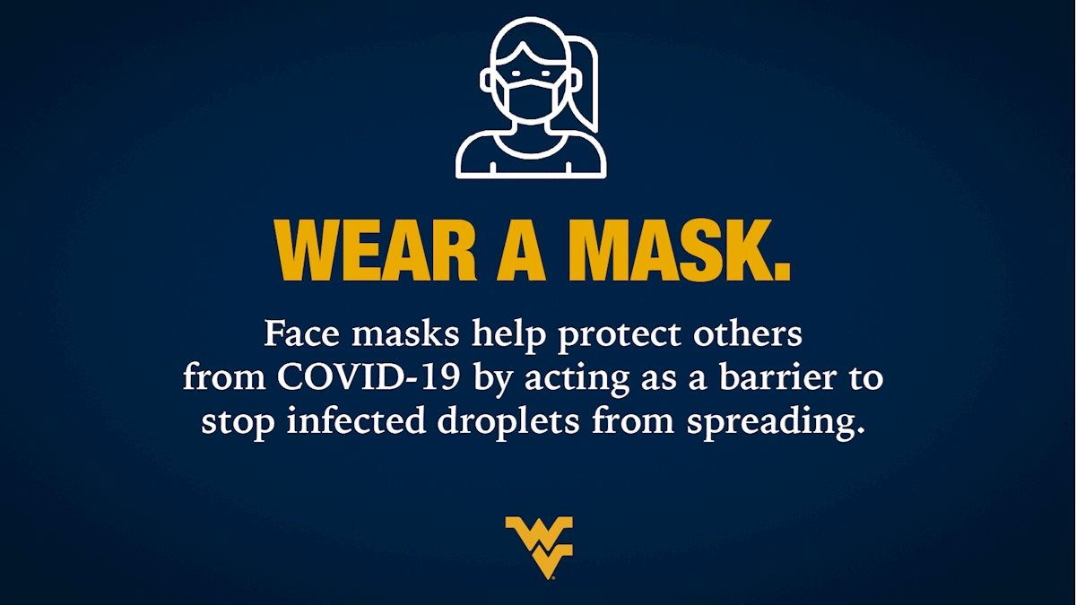 WVU, CDC report first two weeks' results for mask observation study