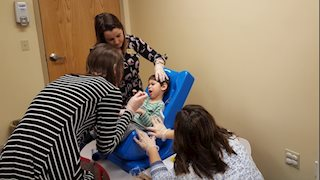WVU CED Feeding & Swallowing Clinic's 1000th Visit