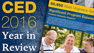 WVU Center for Excellence in Disabilities 2016 Annual Report