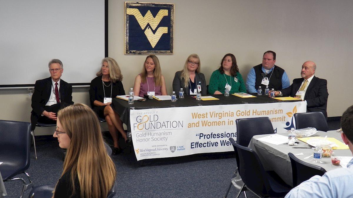 WVU Charleston Campus Hosts Gold Humanism and Women in Medicine Summit