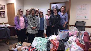 WVU Charleston Campus Sponsors Gifts for Foster Children