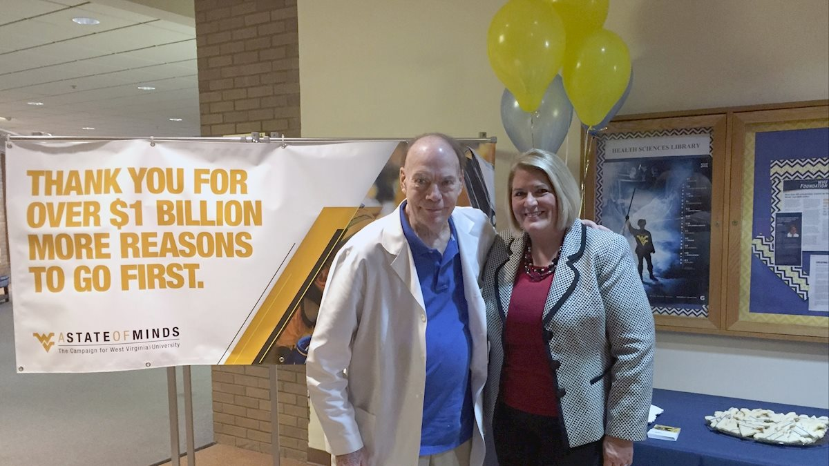 WVU Charleston celebrates WVU State of Minds campaign milestone