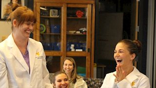 WVU dental hygiene students design winning clinic invention