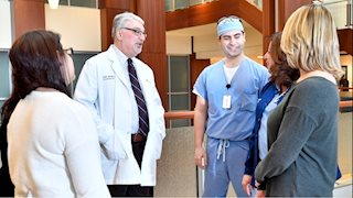 WVU doctors and nurses work together to get tonsillectomy patients home faster