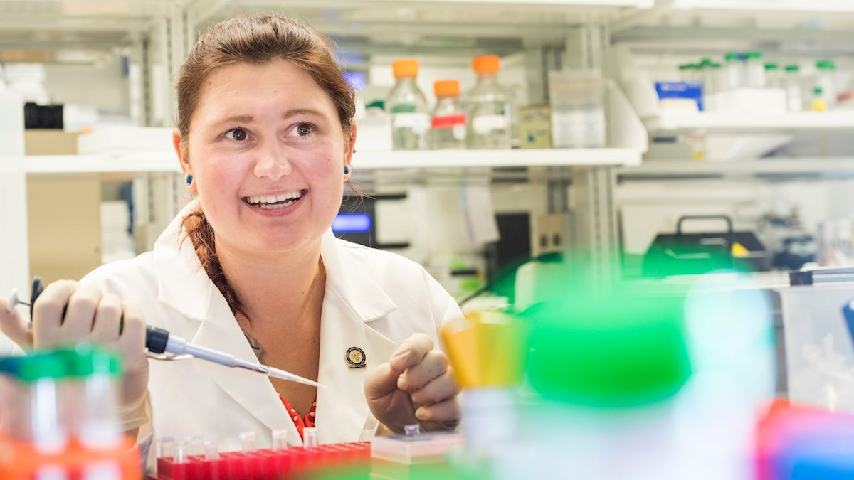 WVU graduate student lays groundwork for potential new diabetes treatments, receives NIH grant