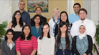 WVU Health Outcomes Ph.D. students receive accolades at international conference