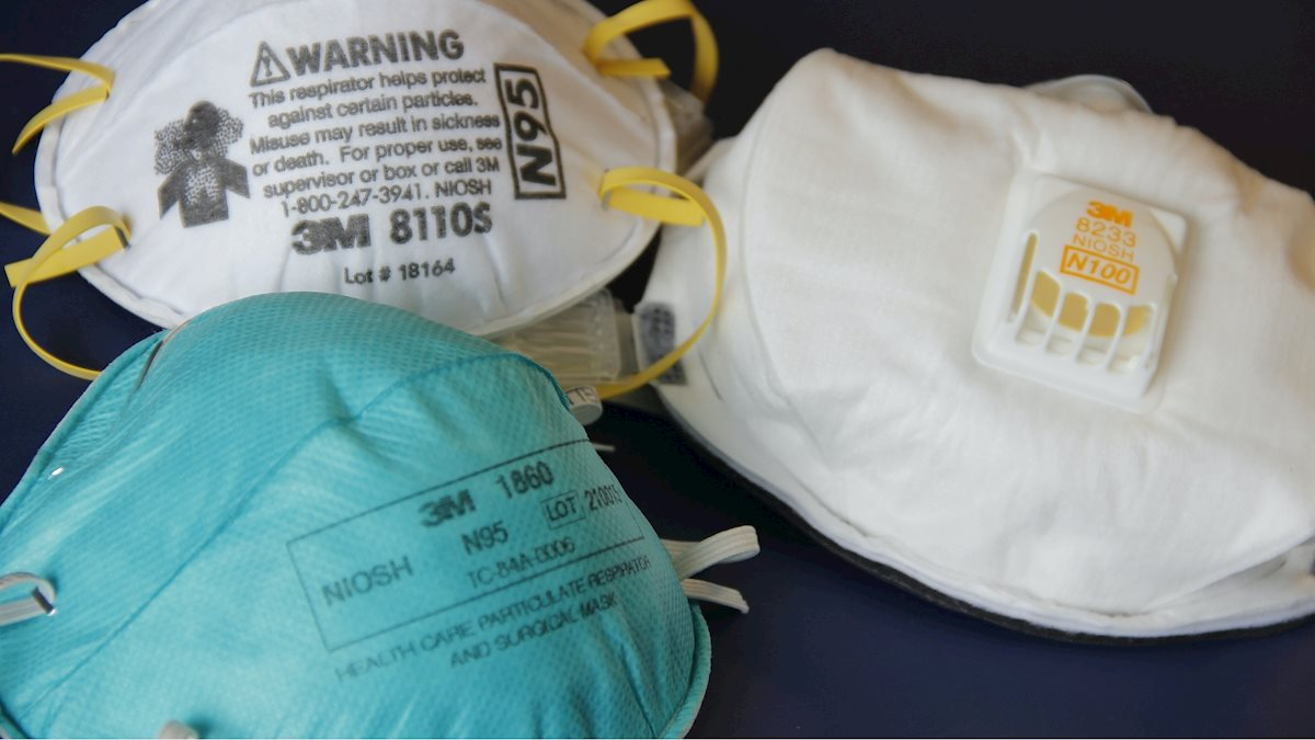WVU Health Sciences Center providing N-95 respirators for all clinically active students
