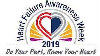 WVU Heart and Vascular Institute recognizes Heart Failure Awareness Week