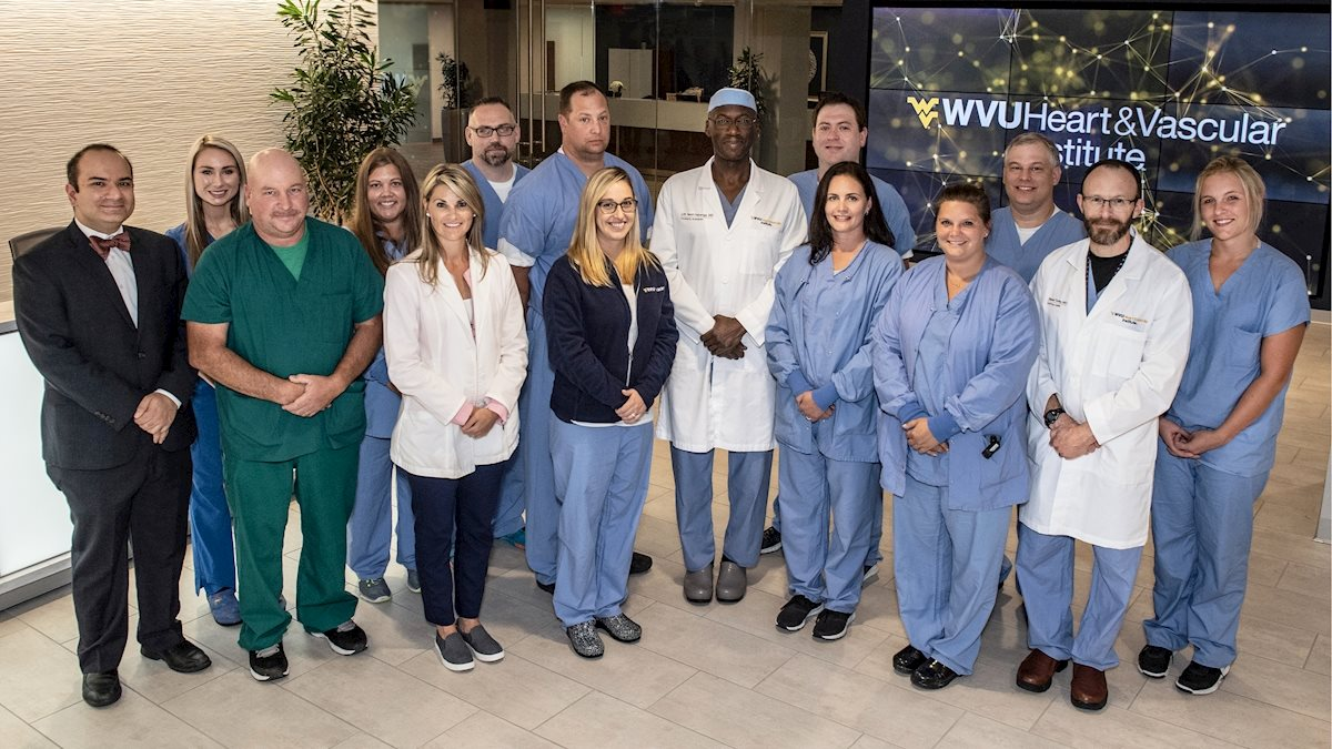 WVU Heart and Vascular Institute uses ECMO to save a young man's life