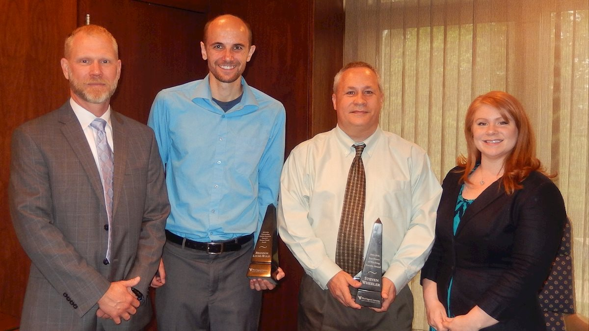 WVU Injury Control Research Center presents awards for excellence in teaching and research