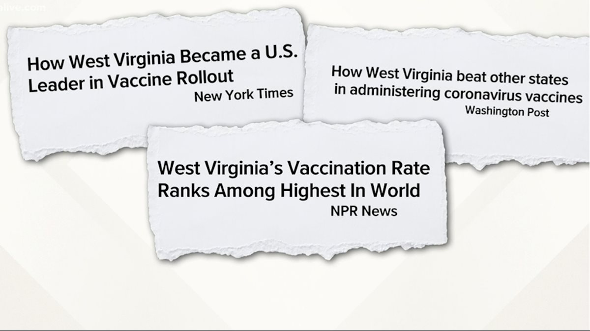 WVU in the News: Can West Virginia's COVID vaccine success be replicated in Georgia?