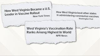 WVU in the News: Can West Virginia's COVID vaccine success be replicated in Georgia?