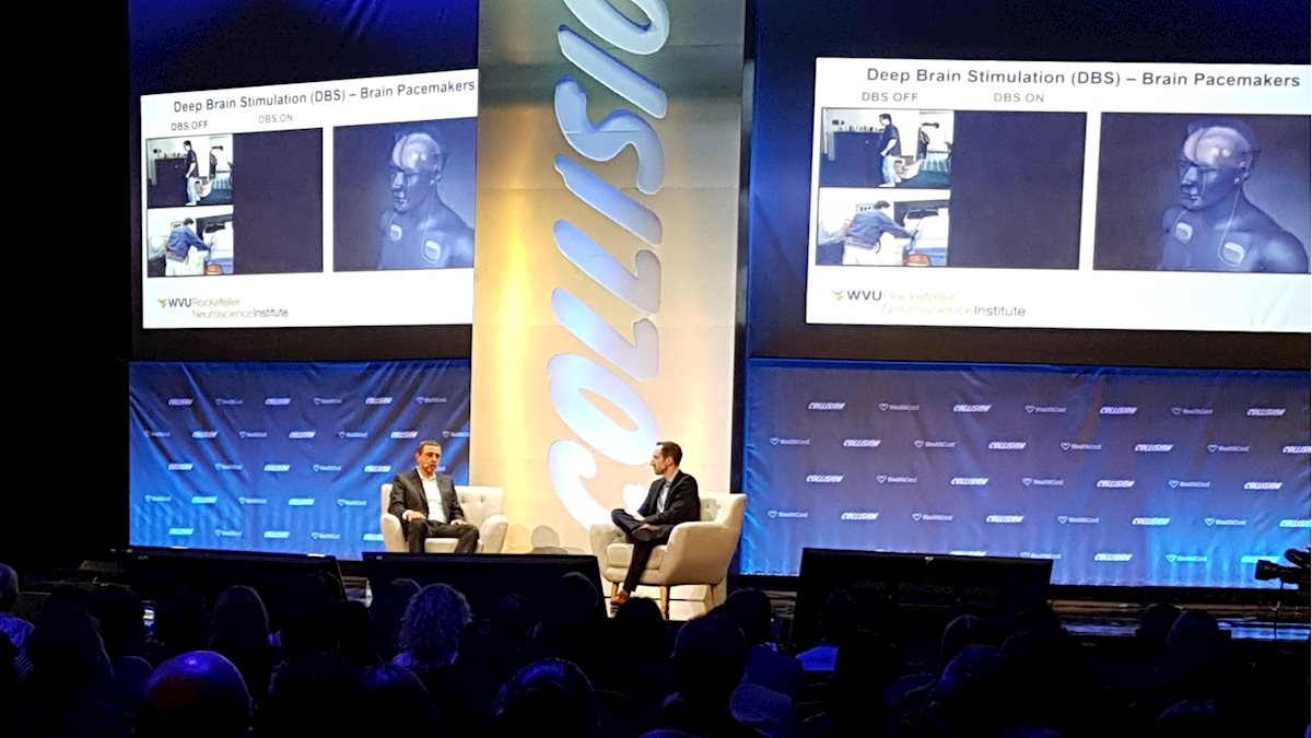 Rezai participates in Collision, largest tech conference in North America