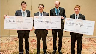 WVU MD/PhD students won top honors with their business, SwifTag Systems