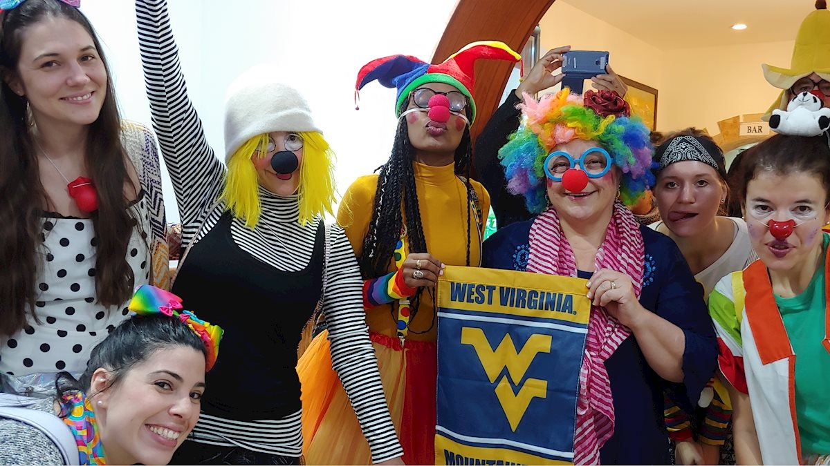 WVU medical professionals provide healing and hope through laughter on mission trip