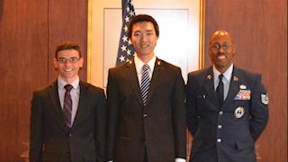 WVU medical student commissioned as 2nd Lieutenant in U.S. Air Force