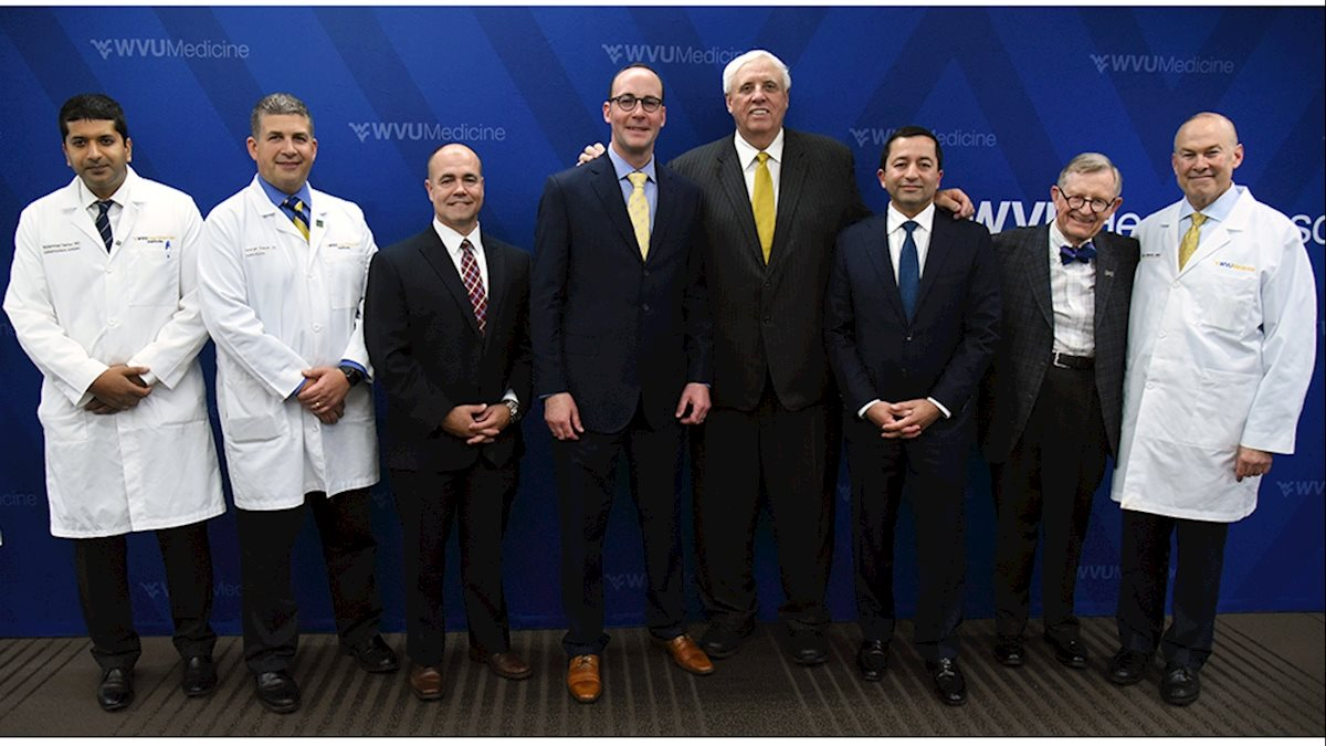 WVU Medicine announces plans to offer heart transplants; photo gallery from press conference available