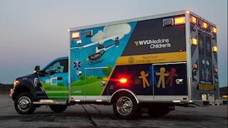 WVU Medicine Children's recognizes National EMS for Children Day
