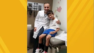 WVU Medicine Children's urologist helps a young boy get back in the game