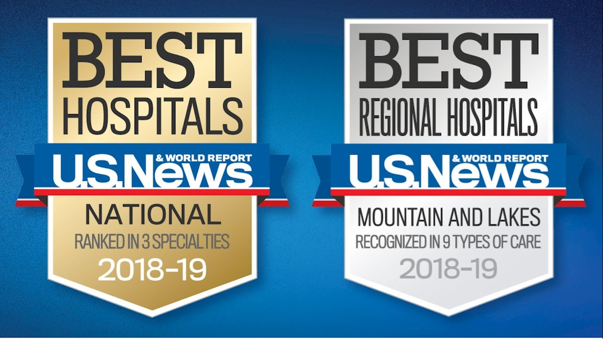 WVU Medicine J.W. Ruby Memorial Hospital receives three national U.S. News & World Report rankings