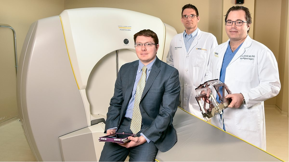 WVU Medicine physicians combine Gamma Knife with other treatments to improve patient outcomes