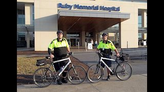 WVU Medicine security officers provide bike patrol