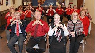 "WVU Medicine St. Joseph's Hospital celebrates ""Go Red for Women"""