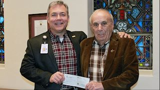 WVU Medicine St. Joseph's Hospital receives donation from businessman Mike Ross