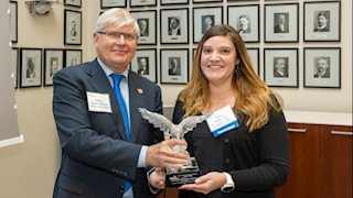 WVU Pharmacy alumna and colleagues honored by APhA Foundation