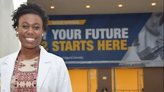 WVU Pharmacy students receive white coats