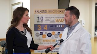 WVU Physicians of Charleston's Dr. Witt Durden Discusses the Winter Blues on Eyewitness News