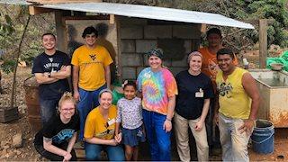 WVU Public Health students help to improve Honduran community