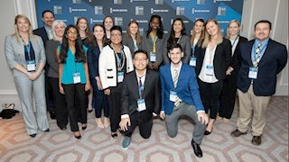 WVU Public Health students present work at national health summit