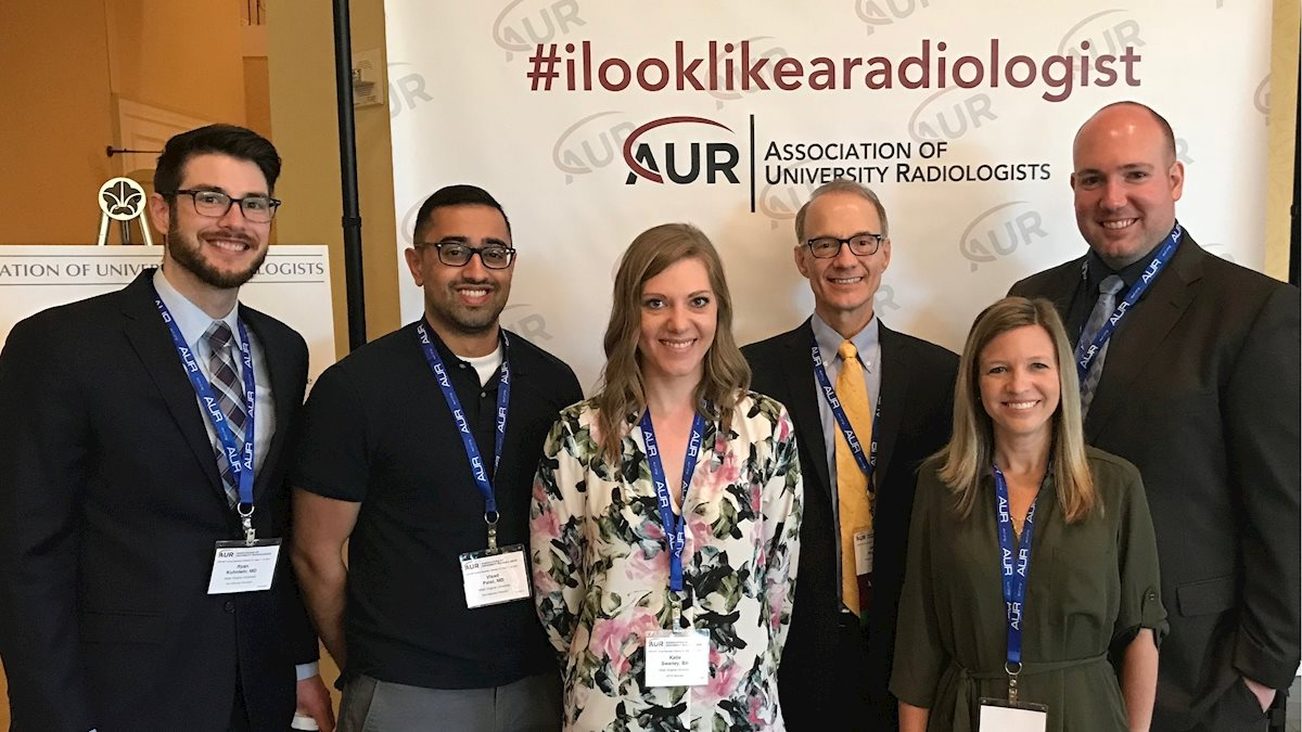 WVU Radiology has great showing at AUR national meeting.