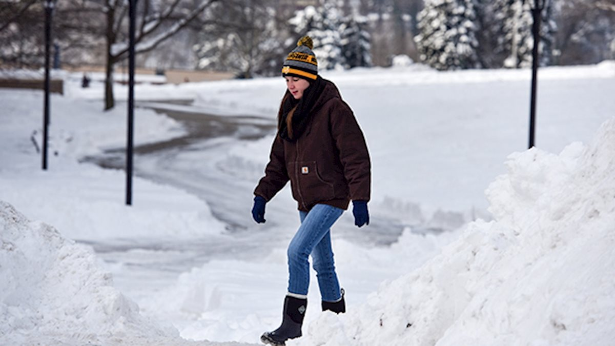 WVU reminds campus community of winter weather procedures