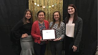 WVU's chapter of APhA-ASP wins regional award for heart disease awareness